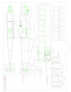 Orion Sport Funfly Model 1 model airplane plan