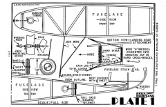 Outdoor Endurance Job model airplane plan