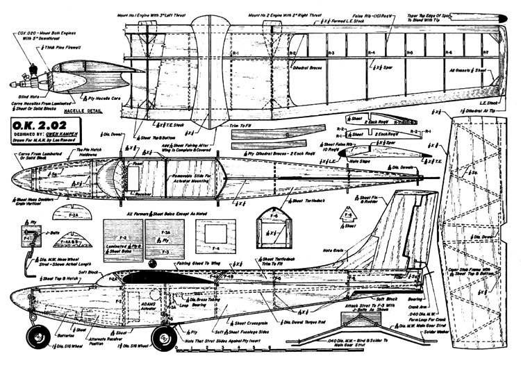 OwenKampen202 model airplane plan