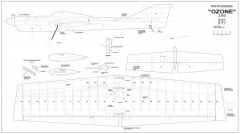 Ozone model airplane plan