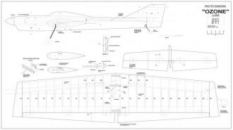 Ozone model airplane plan