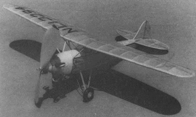 P-2-S Meteor model airplane plan