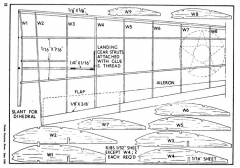 P-39-3 model airplane plan