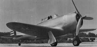 P-43 Lancer model airplane plan