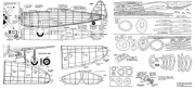 P-47D Thunderbolt 2 model airplane plan