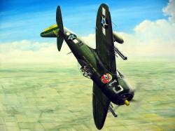 P-47 Thunderbolt (Ziroli plan) model airplane plan