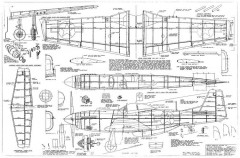 P-51D 28in model airplane plan