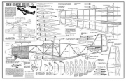 P-51 model airplane plan