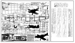 P-51 Apache 40in model airplane plan