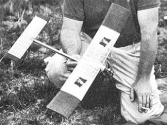 P-Wee-B  model airplane plan