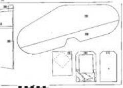 P39-3 model airplane plan