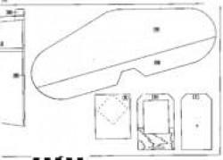 P39-3 model airplane plan