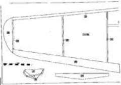 P39-4 model airplane plan
