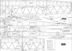PAAckhorse model airplane plan