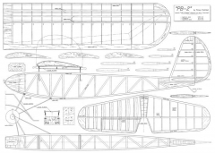 PB-2 model airplane plan