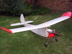 PB-2 model airplane plan