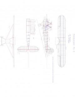 POLIKARPOV Model 1 model airplane plan