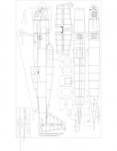 PONYFUS2 Model 1 model airplane plan