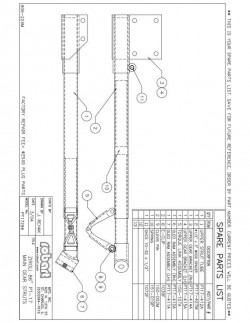 PT17Z86SP model airplane plan