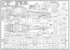 PZL Wilga 35 model airplane plan