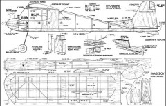 Paageboy model airplane plan