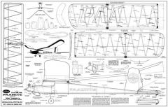 Paamite-Guillows model airplane plan