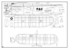 Pac model airplane plan