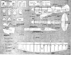 Pacemaker model airplane plan