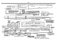 Pacer model airplane plan