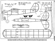 Pacific Ace Jr model airplane plan