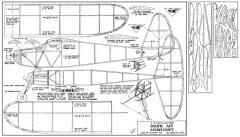 Pacific Ace 30in model airplane plan