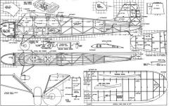 Pacificoaster model airplane plan