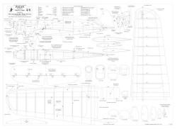 Pagan BW Print model airplane plan