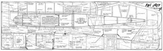Pal Joey model airplane plan