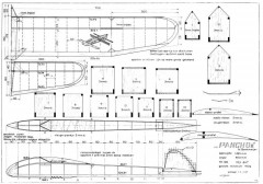 Pancho II model airplane plan
