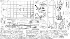 Panther peerless 46in model airplane plan
