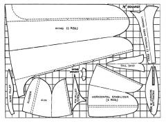 Paper Flyer model airplane plan
