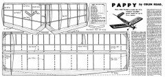 Pappy model airplane plan