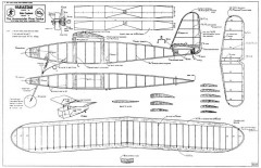 Parastar model airplane plan