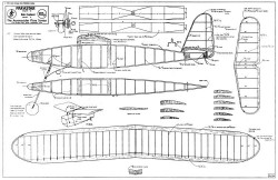 Parastar model airplane plan