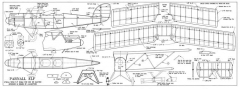 Parnall Elf model airplane plan
