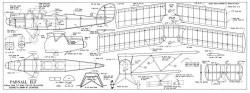 Parnall Elf model airplane plan