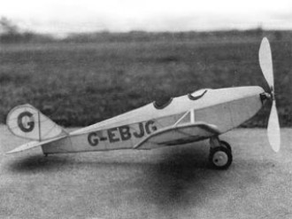 Parnall Pixie model airplane plan