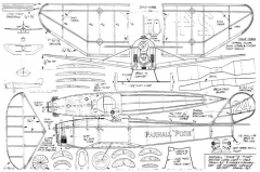 Parnall pixie II model airplane plan