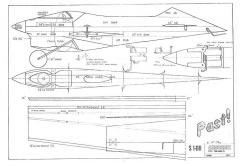 Past TR model airplane plan