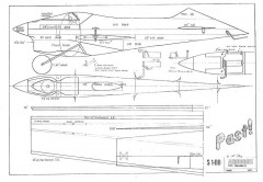 Past! model airplane plan