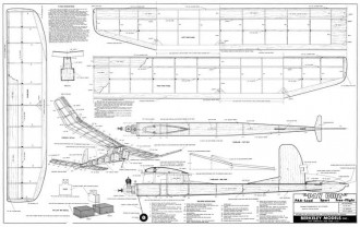 Pay Dirt model airplane plan