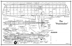Peacemaker model airplane plan
