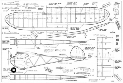 Pee Wee Pal JJ model airplane plan
