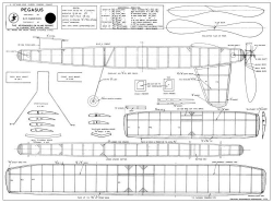 Pegasus 2 model airplane plan